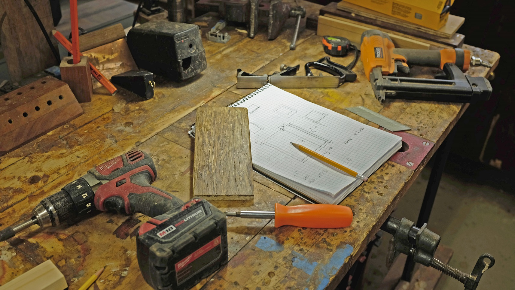woodturning project table