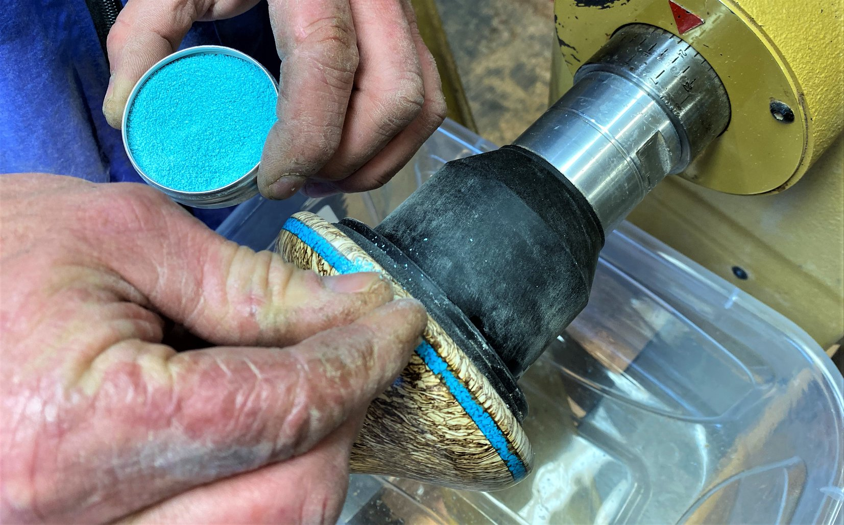detailing hemp wood