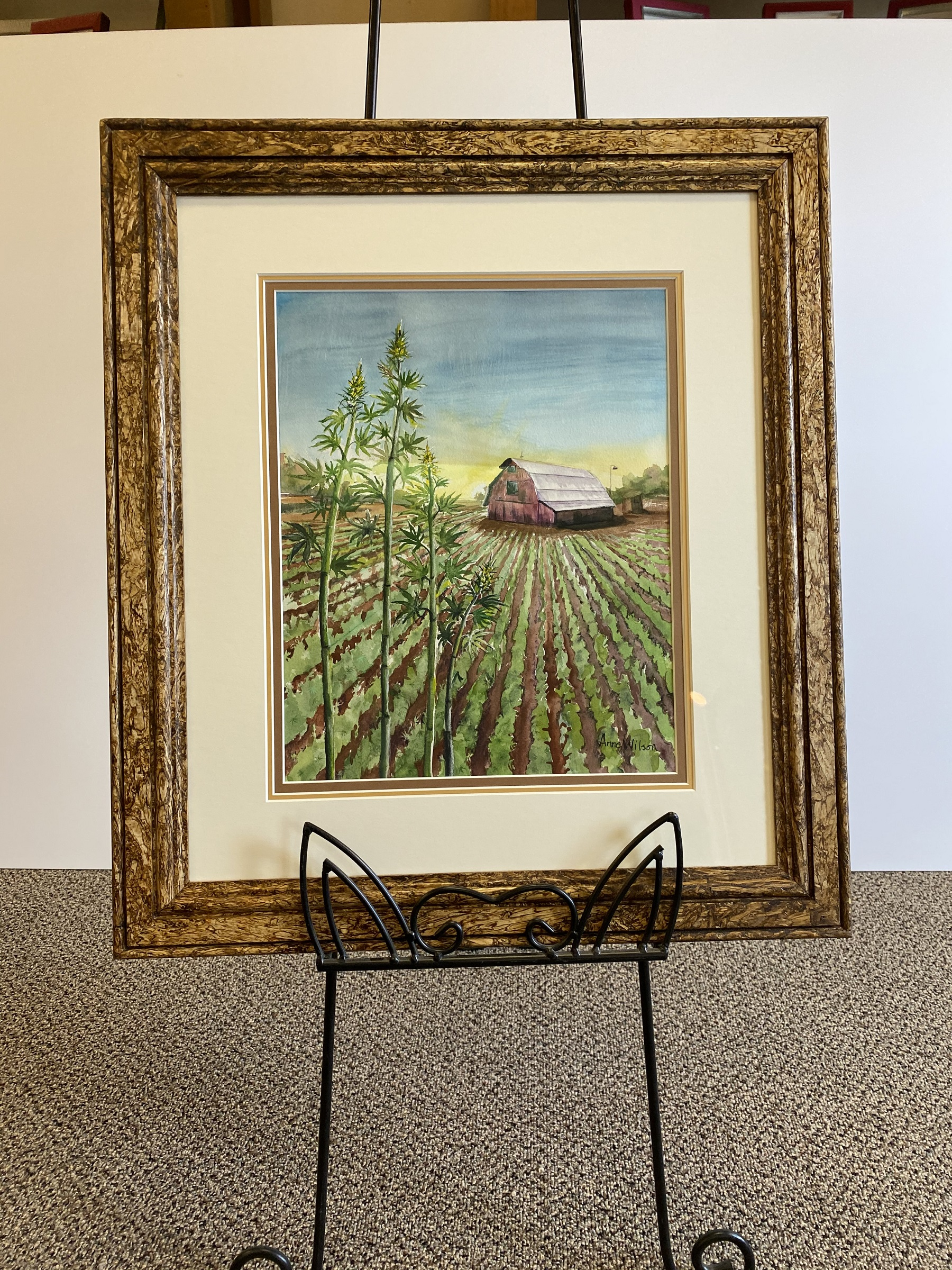 pressed hemp wood frame