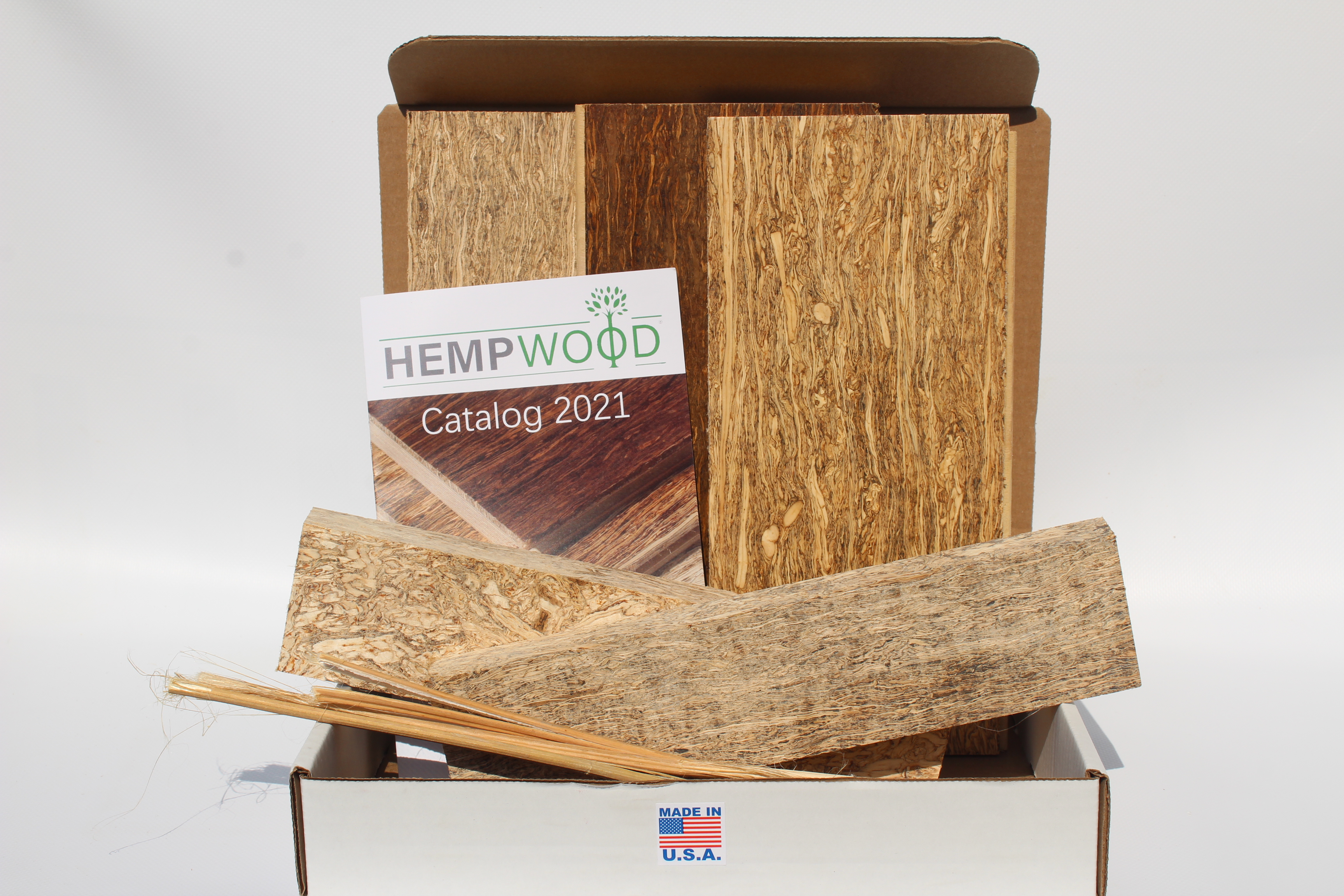 design sample pack of hemp products