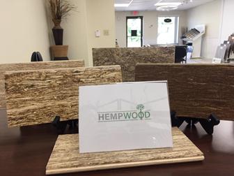 HempWood Flooring Display