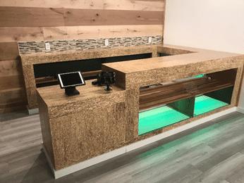 hemp sales desk